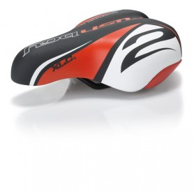 XLC Kids saddle SA-C02 unisex 180x145mm 303g black red