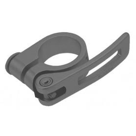 Sattelstützen-Klemme Ø 31.8mm mit Schnellspanner 6061-T6 Alu Cr-Mo schwarz