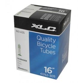 XLC Bike tube 16 x1.75/2.125 47/62-305 AV 35 mm