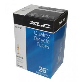 XLC Bike tube 26 x1.5/2.5 40/62-559 DV 40 mm