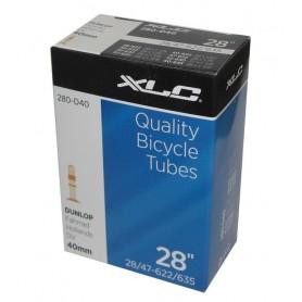 XLC Bike tube 27/28 x 1 1/8-1.75 28/47-622/635 DV 40