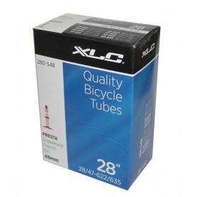 XLC Bike tube 27/28 x 1 1/8-1.75 28/47-622/635 SV 48
