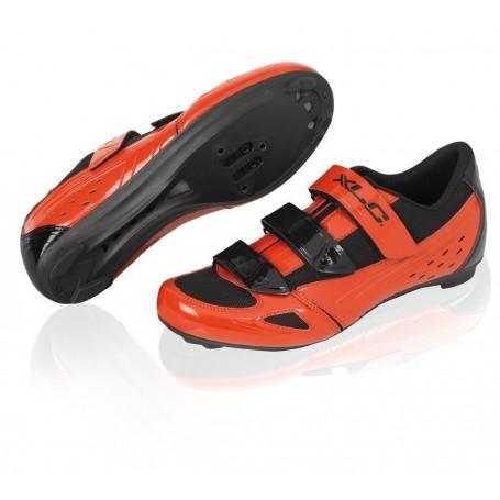 XLC Pro Road SPD Look Rennrad Schuhe schwarz grau, Größe:Gr