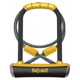 Onguard Pittbull U-lock DT 8005 115x230x14mm with rope and bracket