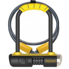 Onguard Bulldog U-lock Mini DT 8015C 90x140x13mm with bracket