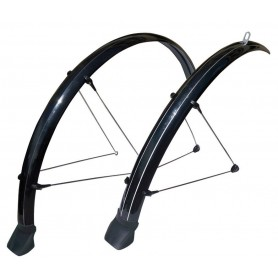 Stronglight Mudguard set Tour 26 inch black 54 mm