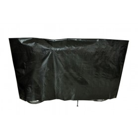 Bike protection cover VK without eyelets 110 x 210cm, black