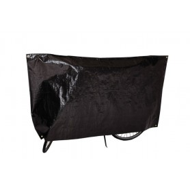 Bike protection cover Classic VK 110 x 210cm, black with eyelets and cord