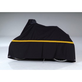 Bike protection cover de Luxe VK height 100-150cm, length 200cm, black