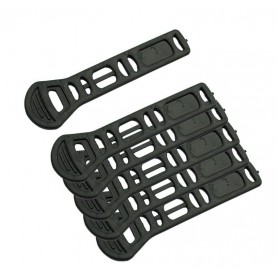 Peruzzo Rubber strap for triple holder set of 6 for Trento Milano etc.
