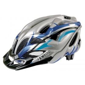 Levior Bike helmet Opus Visor anthracite blue size M 52-58 cm