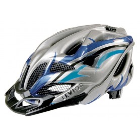 Levior Bike helmet Opus Visor anthracite blue size L 56-62 cm