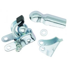 Bicycle hitch - silver
