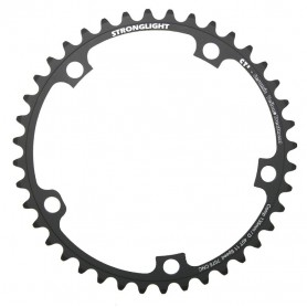 Stronglight Chainring E-Shifting 135D Campa internal 44 teeth black 11-speed PCD 135mm