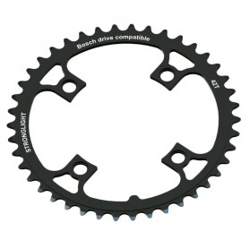 Stronglight Chainring E-Bike BoschGen1 36 teeth black PCD 104mm