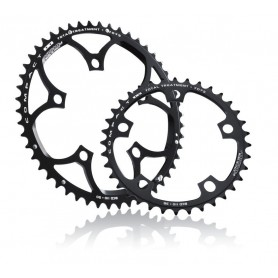 MICHE Chainring Compact PCD 110mm external 46 teeth black 9/10-speed