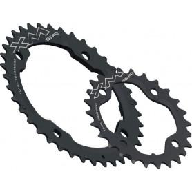 MICHE Chainring MTB XM TT SR PCD 120mm external 38 teeth black 10-speed