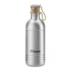 Trinkflasche Elite L'Eroica 600ml, Aluminium