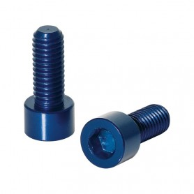 XLC screws for Bottle holder 1 pair blue