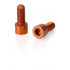 XLC screws for Bottle holder 1 pair orange
