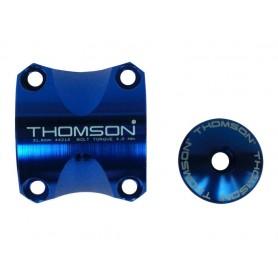 Thomson Handlebar clamping kit Elite X4 MTB blue