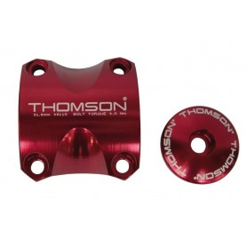 Thomson Handlebar clamping kit Elite X4 MTB red