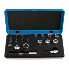 Unior Bits and socket wrench set 1782
