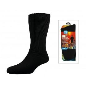 Heat² socks Men size 40-45 black