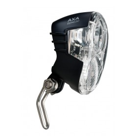 Front light Axa Echo 30 for Hub dynamo with holder and cable