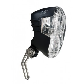 Front light Axa Echo 15 for Hub dynamo with holder and cable