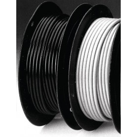 Brake cable cover with slide coating roll 30 m black