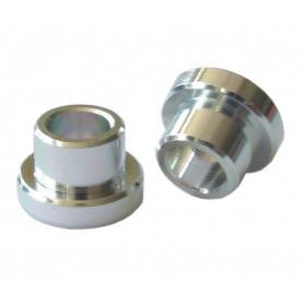 KIND SHOCK Alu socket eye Rear shock 12mm bore 8mm pair for 35.0mm Buildup strength