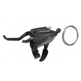 Shimano Shift + brake lever ST-EF 500 V-Brake 3-speed 2-finger left black