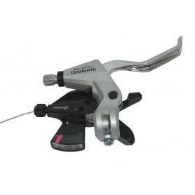 Shimano Altus Schalt+Bremshebel ST-M310 V-Brake 2-Finger rechts V-Brake silber
