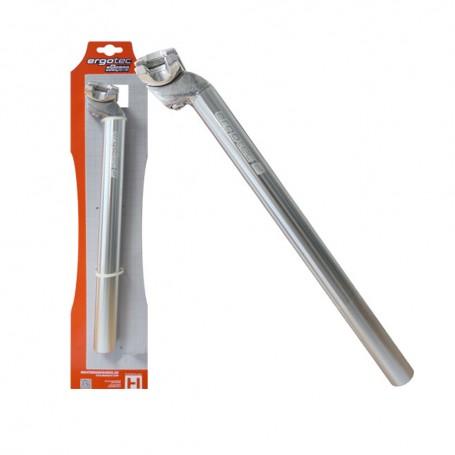 Humpert Sattelstütze Patent ø 27,0mm x L:350mm AL6061 silber Fahrrad