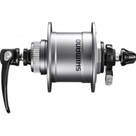 VR-Nabendynamo Shimano DH-T4050 100mm, 36 Loch, Centerl,1,5 W sil.SNSP
