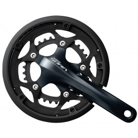 Shimano Crankset Sora 34/50 teeth 175mm FC-R3000 2-Pieces with fixed axle m KSS