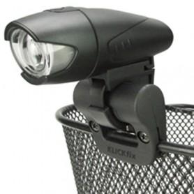 Klickfix Zubehörhalter Light Clip für Körbe Ø 24mm ca. 25g schwarz