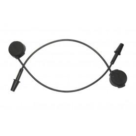 Cable plug (replacement) Blip for eTap,150mm 00.7018.210.000 black 2 pieces