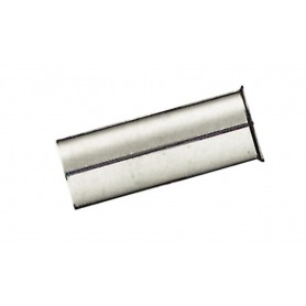 Reduction jacket for fork shaft 1 1/8 inch silver
