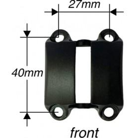 BY.SCHULZ Vorbau Frontkappe Speedlifter SDS 4-Loch Ø31,8mm schwarz