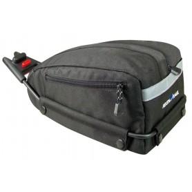 KLICKfix saddle bag Contour SF black,4 ltr, Contour-Adapter