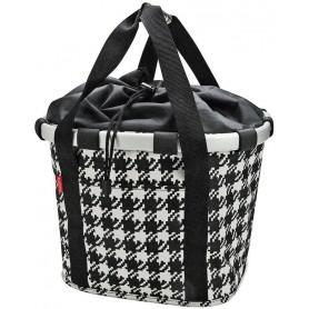 Reisenthel City bag Bike basket 35x28x26cm, KLICKfix fifties black
