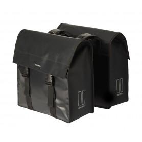 Basil Double bag Urban Load DB waterproofed 48-53 Ltr black