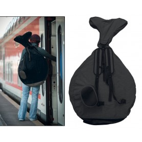 QU-AX Backpack for Unicycle 20 inch black