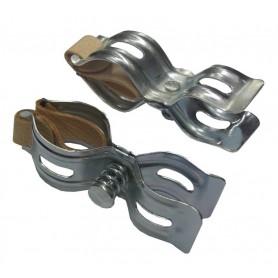Pump holder Rux galvanised pair