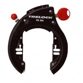 Rahmenschloss Trelock Direktmontage RS 306 NAZ schwarz nicht abziehbar
