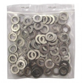 Washer 8mm stainless steel 16.0x8.4x1.6mm