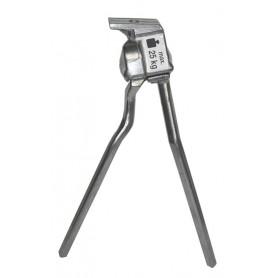 Esge Bipod stand Alu L long 320mm silver