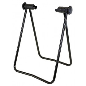 Stand for front wheel axle black for MTB and Race bike